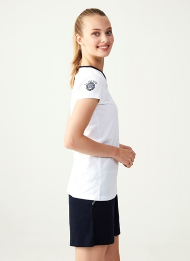 U.S. Polo Assn. Pijama Takım Beyaz